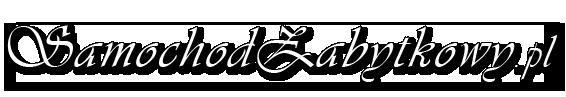 Logo Samochód zabytkowy